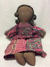 Charmante poupée noire Afrique ou Caraïbes