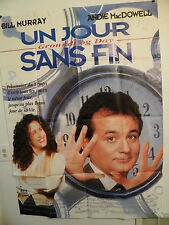 GROUNDHOG DAY  Large French Movie Poster 47x63 1993 Bill Murray