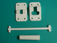 "6""Plastic T Style Door Catch Stop Latch Holder RV Camper Trailer Boat Travel"