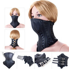 Costume BDSM Bondage Restraint Sex Aid Fetish Harness Mouth Gag Mask Strap Toy