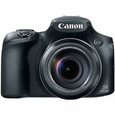 Brand NEW Canon PowerShot SX60 HS 16.1 MP Digital Camera Black