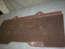 1982-86 CAMARO FIREBIRD STYLE GM REAR LOWER PIT CARGO COVER BROWN BRIAR CHOCOLAT
