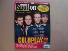 COLDPLAY SPOT ON import cover magazine Chris Martin Guy Berryman Will Champion