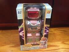 RF Smart-Bot Blinking Moving Head Arms Battery Operated Robot Toy Cute boxed