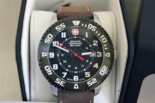 Wenger Swiss Military Mens Roadster With Calendar and Leather Strap 79284