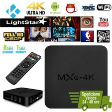 MXQ 4K*2K QUAD CORE ANDROID TV BOX XBMC KODI 8GB WiFi MINI PC MULTIMEDIA PLAYER