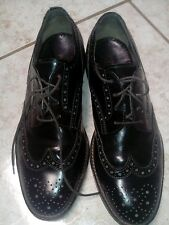 POLLINI Classic Men's Shoes dark brown made in italy size 41