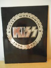 KISS ~ ALIVE / WORLDWIDE 1996-1997 TOURBOOK ~ REUNION ~ GREAT CONDITION!