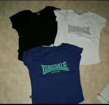 3 tee shirts LONSDALE taille 46 femme