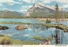 Post Card - Mount Rundle and the Vermillion Lakes - New - Canadian Rockies
