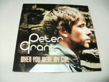 PETER GRANT - WHEN YOU WERE MY GIRL - 2012 UK PROMO CD SINGLE