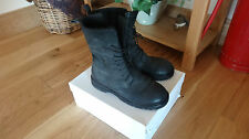 RUNDHOLZ BELUGA LACE UP LEATHER BOOT FUR LINED 39 40 WORN 3 TIMES £277