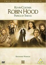 Robin Hood Prince Of Thieves Kevin Costner, Morgan Freeman, Mary NEW UK R2 DVD