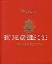 1980 - 1981 WELSH RUGBY UNION HANDBOOK - HARDBACK, CENTENARY YEAR FOR WALES