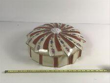 Grande bonbonnière en Porcelaine de Limoges Art DeCO
