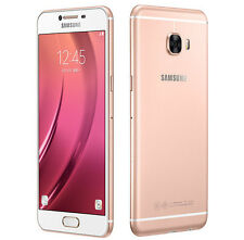 "Samsung Galaxy C7 C7000 Pink Gold 5.7"" 16MP 64GB 4GB RAM Android Phone By FedEx"