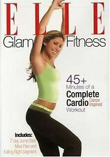 ELLE COMPLETE CARDIO (DVD) workout Glam Fitness team learn dance steps burn NEW