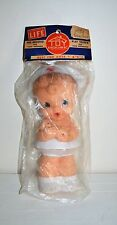 Vintage Toy House Nurse Squeak Toy Holding Baby Alan Jay Style Squeaky Doll
