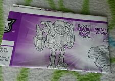 Transformers UNIVERSE NEMESIS STRIKA INSTRUCTION BOOKLET ONLY GREAT CONDITION