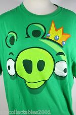 Angry Birds King Pig Mens Large graphic Tshirt 022