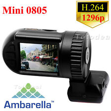 Ambarella A7 Mini 0801 Pro Mini 0805 HD 1296P Car Dash Camera GPS Logger WDR