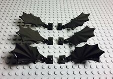 Lego Animal Black Wings X6 With Clips For Harry Potter Skeleton Horse Or Dragon