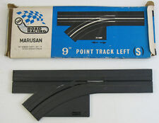 "MARUSAN JAPAN ATLAS - 9"" STRAIGHT SINGLE LANE TURN OFF TRACK with BOX"