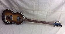 Vintage 1960's Unknown Japanese Hofner Beatle Bass 500/1 Copy-Project AS-IS