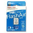 NEW Toshiba Flashair III 16G 16GB W03 Wireless WIFI SD SDHC Class 10 Memory Card