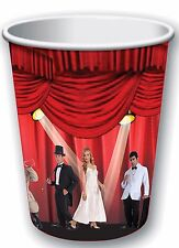 8 pc Hollywood At the Movies Oscar Award Show Theme Party 9 oz. PAPER CUPS