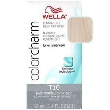 Wella Color encanto permanente líquido de pelo rubio pálido #T10 Tóner 42ml. vendedor de Reino Unido