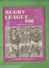 #QQ. THE RUGBY LEAGUE NEWS, 7-8th April 1973, Newtown Jets Cover