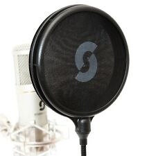 DUAL LAYER POP FILTER BY studioseries-NUOVO! MICROFONO SHIELD GUARD