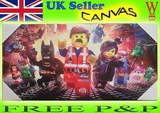 Lego Superhero Batman Wonder Women Dc Comics Marvel Canvas Picture Art GIFt