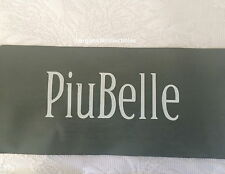 NEW PIUBELLE PIU BELLE PORTUGAL QUEEN MATELASSE COVERLET WHITE SILVER 100%COTTON