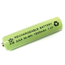 AAA LR3 R03 1800mAh Ni-MH Rechargeable Battery Green