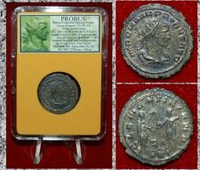 Ancient Coin PROBUS Emperor And Jupiter on reverse Antoninianus Beautiful Coin!