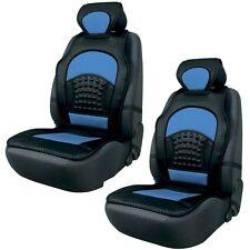 (216) 2 x Autositzauflage Sitzschoner Sitzauflage Schonbezug Space Blau