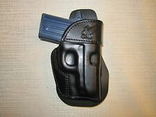 SIG SAUER P238, PADDLE HOLSTER,FORMED LEATHER OWB HOLSTER RIGHT HAND