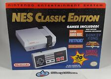 NES Classic Edition - Mini Nintendo Entertainment System - 30 GAMES, NEW IN-HAND