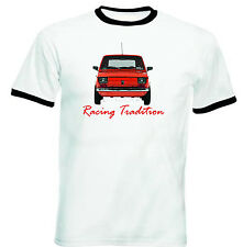 POLISH MALUCH RED FIAT 126P RACING - NEW COTTON TSHIRT - ALL SIZES IN STOCK