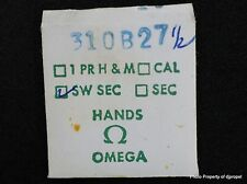 Vintage ORIGINAL OMEGA 310 B 27 1/2 Hand! Blue Sweep Second Hand !