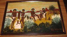 Signed Juba Jandieri painting Ebilisi Georgia/Russian folk artist