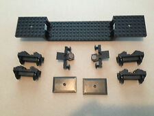 LEGO Train Complete Car w/ Buffers Wheels and Magnets 9V Electric Railroad