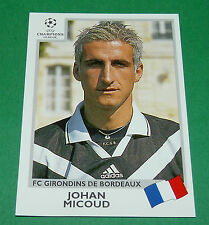 N°265 MICOUD FC GIRONDINS BORDEAUX PANINI FOOTBALL CHAMPIONS LEAGUE 1999-2000