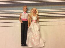 Barbie I Can Be A Bride Loose Lot Of Barbie And Ken Mint