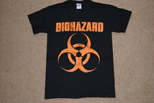 BIOHAZARD DISTRESSED LOGO T SHIRT SMALL NEW OFFICIAL URBAN DISCIPLINE MATA LEAO