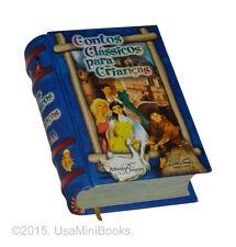 new hardcover Miniature Book Contos Clássicos Para Crianças in portuguese