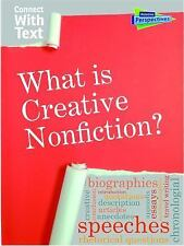 What is Creative Nonfiction? (Connect with Text), Guillain, Charlotte, Good Book
