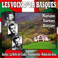 CD Les voix d'or basques / Luis mariano - Guétary - Dassary / IMPORT